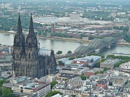 Cologne Cathedral Interior Aerial View Of The Cologne Cathedral Germany