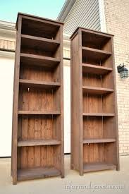 diy wood bookshelf galleryhomes co