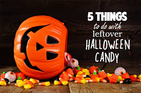 5 things to do with all of that leftover halloween candy