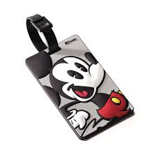 Mickey Mouse Flag American Tourister Disney Id Tag