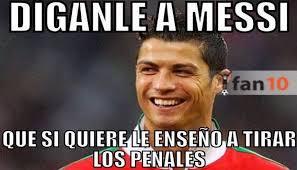 Memes Sobre Messi - lionel messi es blanco de memes tras fallar un nuevo penal con