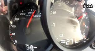 porsche boxster top speed porsche boxster s 0 270 km h test