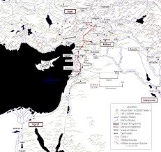 Map Of Ancient Middle East by Tutankhamun U0027s War The Ancient Near East