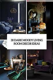 30 dark moody living room decor ideas digsdigs dark moody living rom decor ideas cover