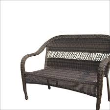 furniture 3 piece outdoor wicker cushion set indoor bench