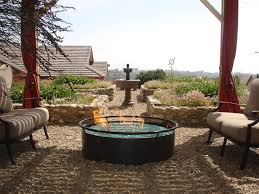 Fire Glass Pits by Outdoor Fire Pits Using Firecrystals Fire Glass Mediterranean