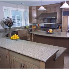 The Home Depot Kitchen Design by Silestone 2 In Quartz Countertop Sample In Blue Sahara