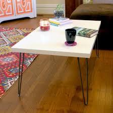 Ikea Table Top Hack Mid Century Modern Hairpin Leg Ikea Hack Coffee Table Home