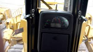 cat d10t bulldozer cab view youtube