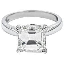 horizontal emerald cut engagement ring emerald cut horizontally set gold engagement ring at