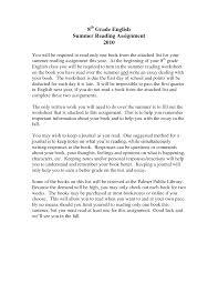 Comprehension Worksheets For Grade 8 Essay Language Arts Sheets