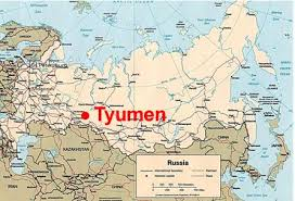 russia map with all cities tyumen map