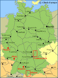 bamberg germany map rock climbing sport climbing and bouldering in