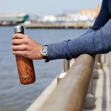 buy s u0027well the wood bottle teakwood amara