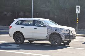 white bronco car spied mule for 2020 ford bronco caught testing in michigan