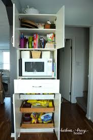 pantry organization for a small kitchen harbour breeze home