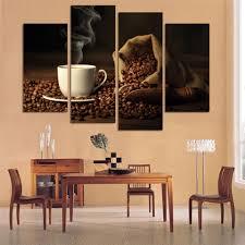 Dining Room Framed Art Online Get Cheap Coffee Canvas Art Aliexpress Com Alibaba Group