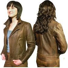 brown motorcycle jacket women u0027s elite patrol antique brown leather jacket