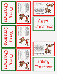 reindeer stocking stuffer or party favor u2013 free printable