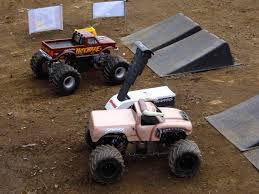 videos of rc monster trucks monster trucks hit the dirt rc truck stop