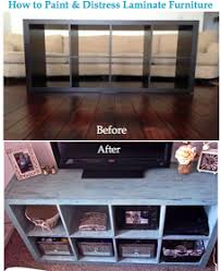 tehra lynn blog how to paint and distress laminate furniture