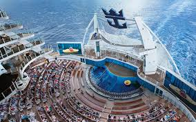 largest cruise ship in the world world u0027s biggest cruises ship completes first trial travel leisure