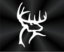 buck commander decals deer rack hunting tablet laptop