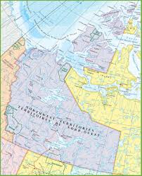 Trans Canada Highway Map by Large Detailed Map Of Northwest Territories With Cities And Towns