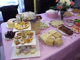 tea party themed bridal shower food wedding showers tea bridal