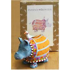 ralph rhino ornament jgi141 the goodall institute