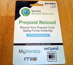 reload prepaid card online with credit card vanilla reload cards million mile secrets
