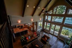 open great room floor plans 3 story open mountain house floor plan asheville mountain house