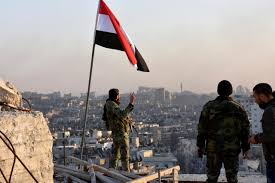 Hezbollah Flag Hezbollah Other Shi U0027ite Allies Helped Assad Win In Aleppo