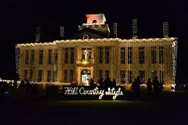 johnson city christmas lights johnson city lights spectacular s future is dim without new