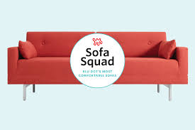 reviewed the most comfortable sofas at blu dot apartment therapy