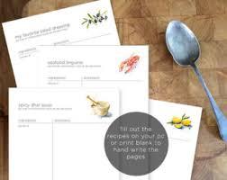 recipe page recipe template main dish recipe side dish