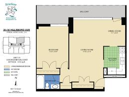 floorplans for apartments in toronto at 30 u0026 50 hillsboro avenue