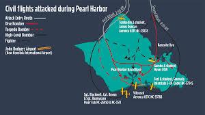 Pearl Harbor Map Civilian Pilots Under Fire At Pearl Harbor Aopa