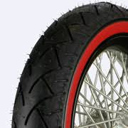 Double White Wall Motorcycle Tires New Product