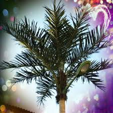 palm tree solar lights outdoor solar led palm tree light artificial plant landscaping