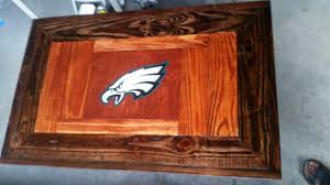 philly eagles fan pallet coffee table u2022 1001 pallets