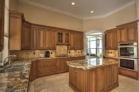 kitchen cabinets with countertops wood cabinets and countertops a choice for
