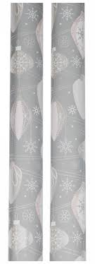 silver christmas wrapping paper whsmith silver foiled frozen baubles christma whsmith
