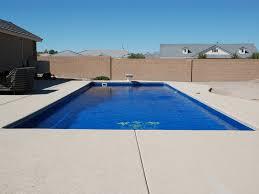 fiberglass swimming pool paint color finish azure 5 calm water pools