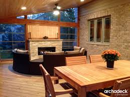 Build Your House Building Your Home Library Rukle Screen Porch With Fireplace Build