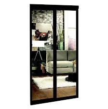 Closet Door Prices Espresso Mirrored Sliding Closet Door Lowe S Canada House