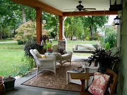 Outdoor Area Rugs For Decks Outdoor Covered Patios Porch Traditional With Area Rug Ceiling Fan