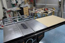 where can i borrow a table saw pimp my saw home made folding outfeed table and router wing steel
