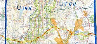 Map Of Cedar City Utah by The Hikanation Route