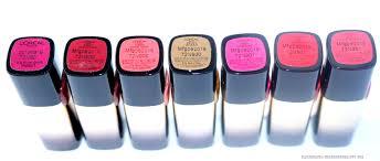 l u0027oreal paris color riche gold obsession lipsticks review